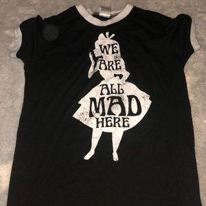 Alice aim wonderland shirt